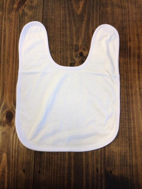 Baby Bib with Velcro Sublimation Blank - Personal Gifts Etc