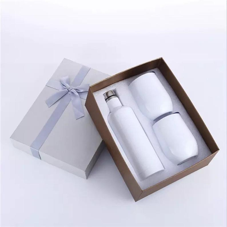 Sublimation Wine Gift Set - Blank