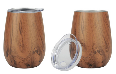 10 oz Wine Tumbler - Stainless Steel