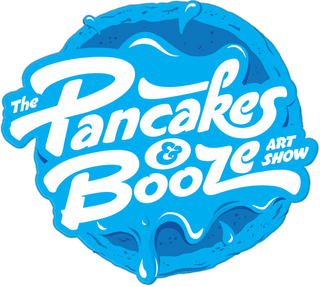pancakes and booze art show in los angeles, SAM art, salina mendoza