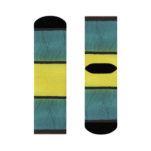 """Tension"" Art Socks"
