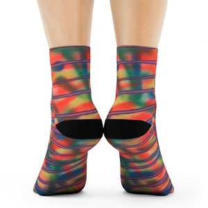 """Stepping stones"" Art Socks"