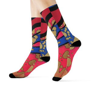 """Layers of Life"" Art Socks"