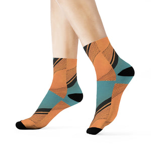 """Conforming beyond my expectations"" Art Socks"