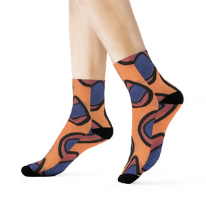 """Quirkiness"" Art Socks"