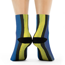 """Finding our why"" Art Socks"