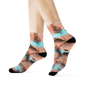 """Self-awareness"" Art Socks"