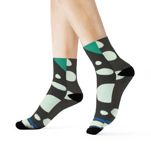 """Time Constraints"" Art Socks"