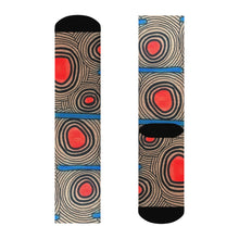"""Trigger Points"" Art Socks"