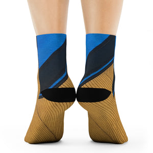 """Cornered"" Art Socks"