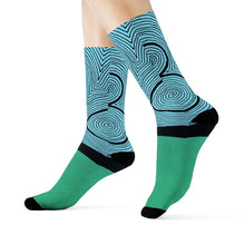 """Isolation"" Art Socks"