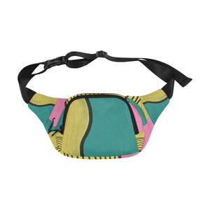 """Resistant to love"" art fanny pack"