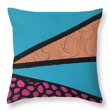 """Scratchers"" Throw Pillow"