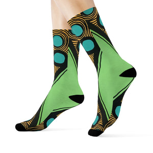 """Social distancing"" Art Socks"