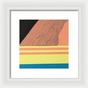 """Stability Through Growth"" Framed Print"