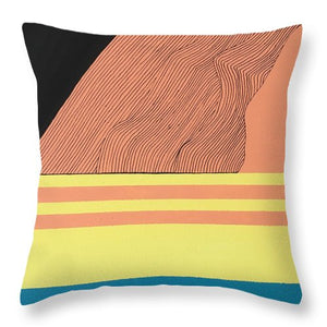 """Stability Through Growth"" Throw Pillow"