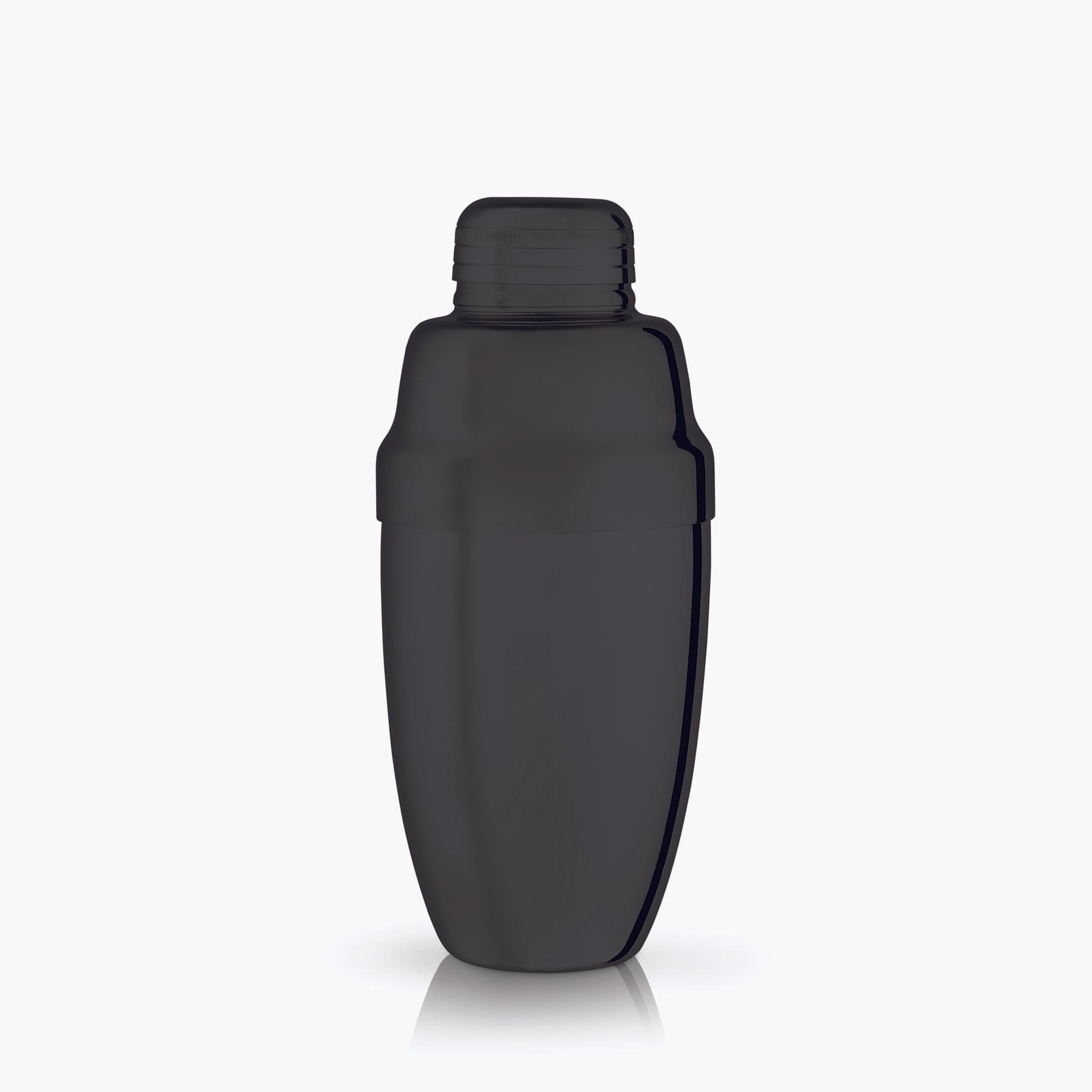 Gunmetal Black Heavyweight Cocktail Shaker