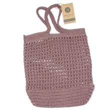 GAVESÆT - CROCHET BAG + ALL ROUND CLOTHS & TOWELS - TWILIGHT MAUVE