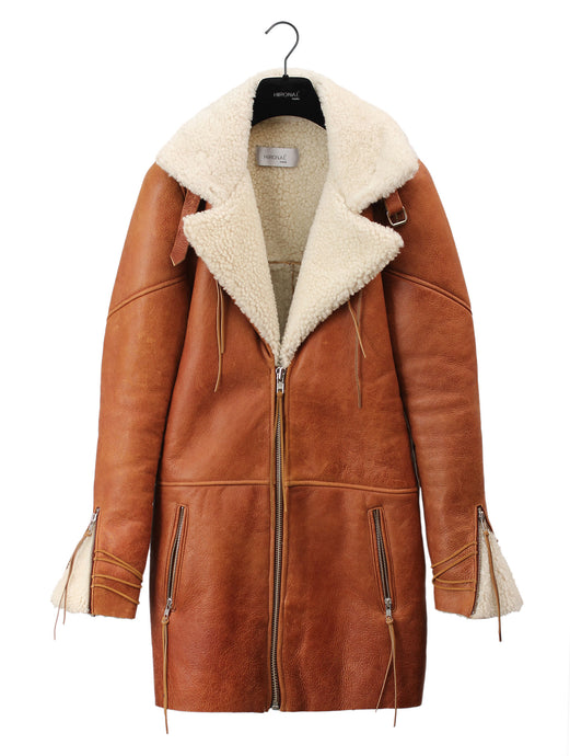 Hunt Shearling Coat