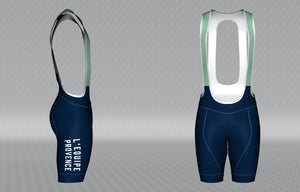 L'Equipe Provence Cadence Pro Bibs Front and Side