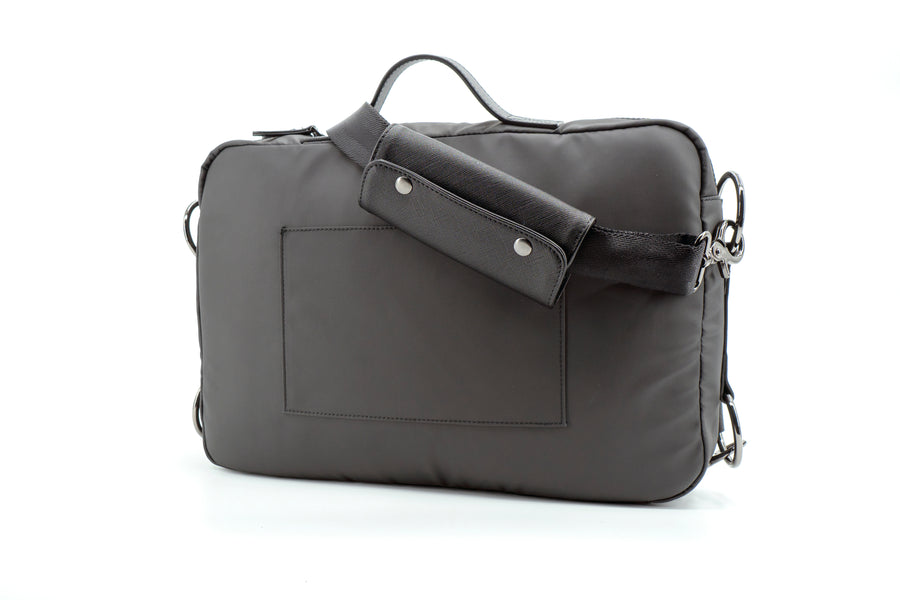 Meridian Nano Leather Laptop Messenger Bag