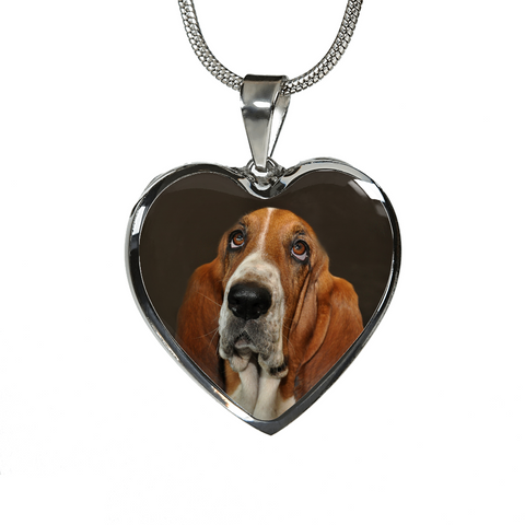 Dog Basset Hound Necklace