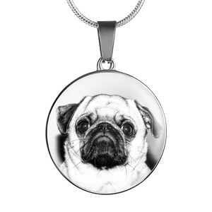 Dog Pug Necklace