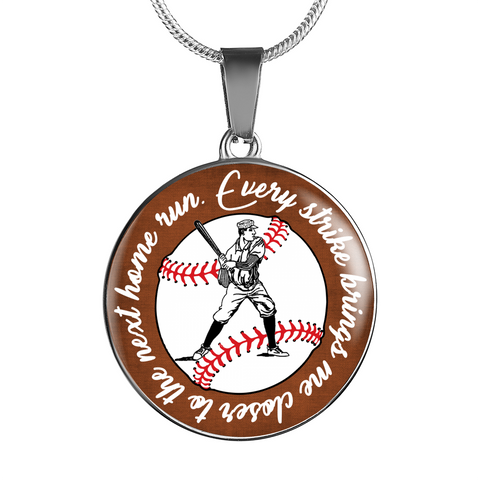 Baseball Home Run Necklace