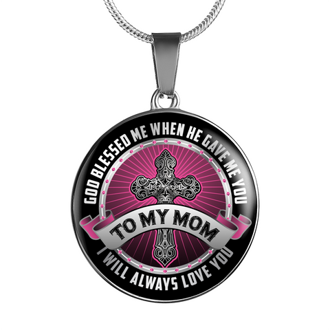 To My Mom Necklace
