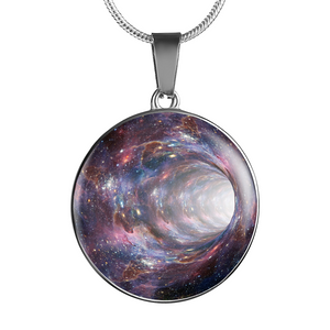 Universe Galaxy Hole Necklace