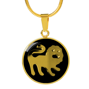 Zodiac Sign Leo Necklace