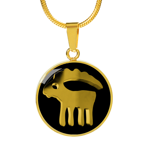 Zodiac Sign Capricorn Necklace