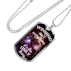 American Football Winning Dog Tag