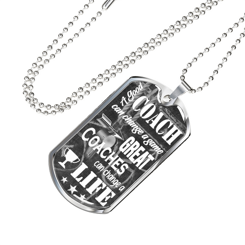 Great Coach Dog Tag