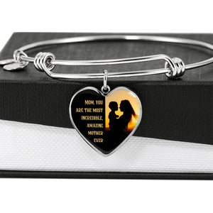 Most Incredible Amazing Mother Heart Bangle