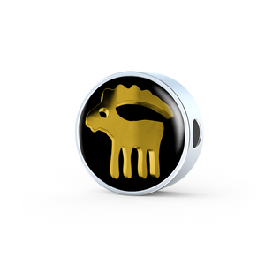 Zodiac Sign Capricorn Charm