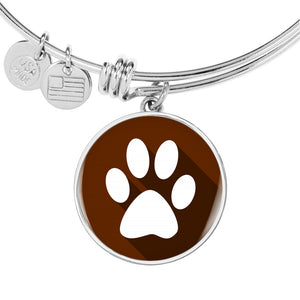 Brown Pet Animal Paw Bangle
