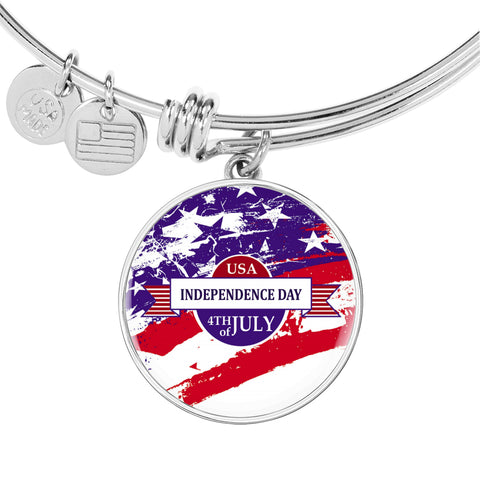USA Independence Day 4th of July Bangle
