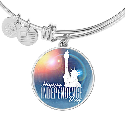 USA Happy Independence Day Bangle