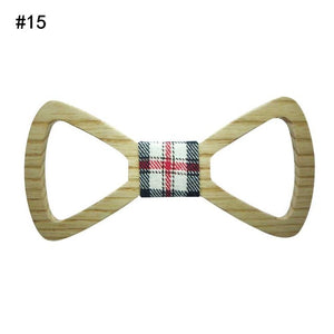 Fashion Men Wood Bow Tie Marry Wedding Party Men's Boy's Butterfly Wooden Shirt Bow Tie LM75