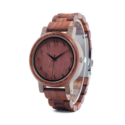 Persian - Natural Red Sandalwood Watch