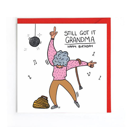 Granny birthday card