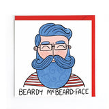 Beardy McBeard-Face card