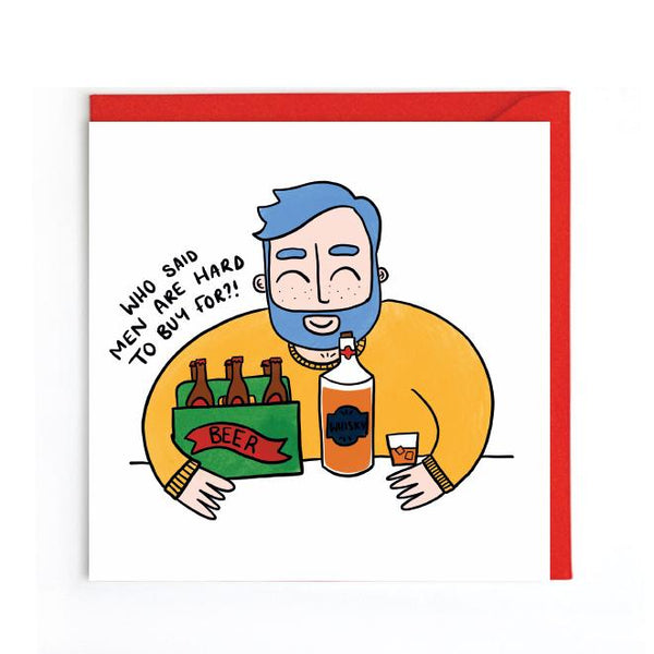 Male birthday card UK