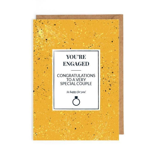 Congratulations engagement card UK
