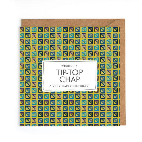 tip top chap card