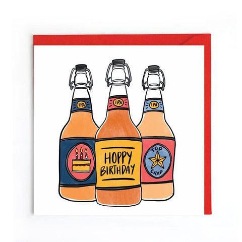 Beer birthday card UK