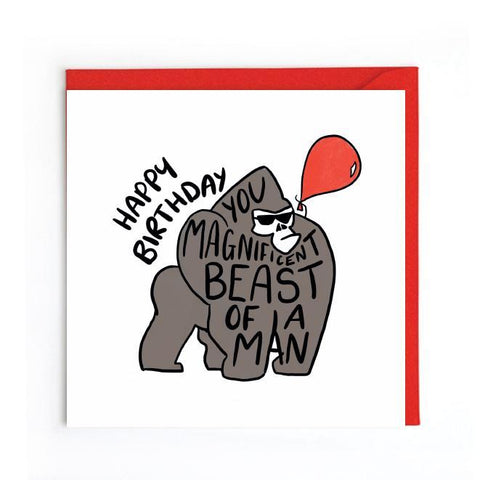 Humorous birthday card UK
