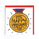 Anniversary card UK