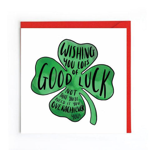 Good Luck Card UK